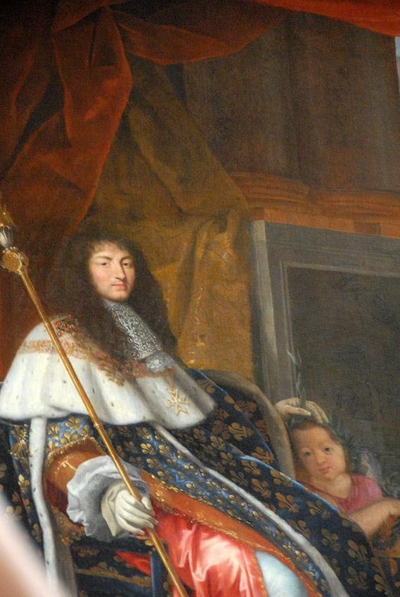 Schloss Versailles: Henri Testelin glorifizierte Ludwig XIV. als Schützer der Akademie. Foto: Hilke Maunder