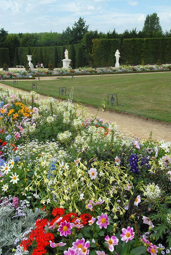 Schloss Versailles: Der Barockgarten von Le Nôtre. Foto: Hilke Maunder