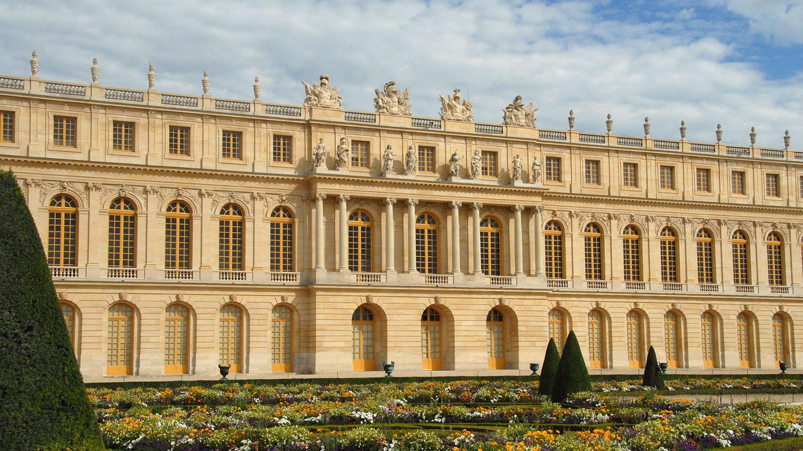 Schloss Versailles: Südflügel. Foto: Hilke Maunder