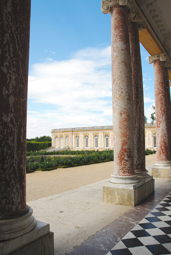 Schloss Versailles, Großes Trianon. Foto: Hilke Maunder