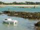Süden der Bretagne. Le Croisic: Blick von der Uferpromenade auf die Küste. Foto: Hilke Maunder