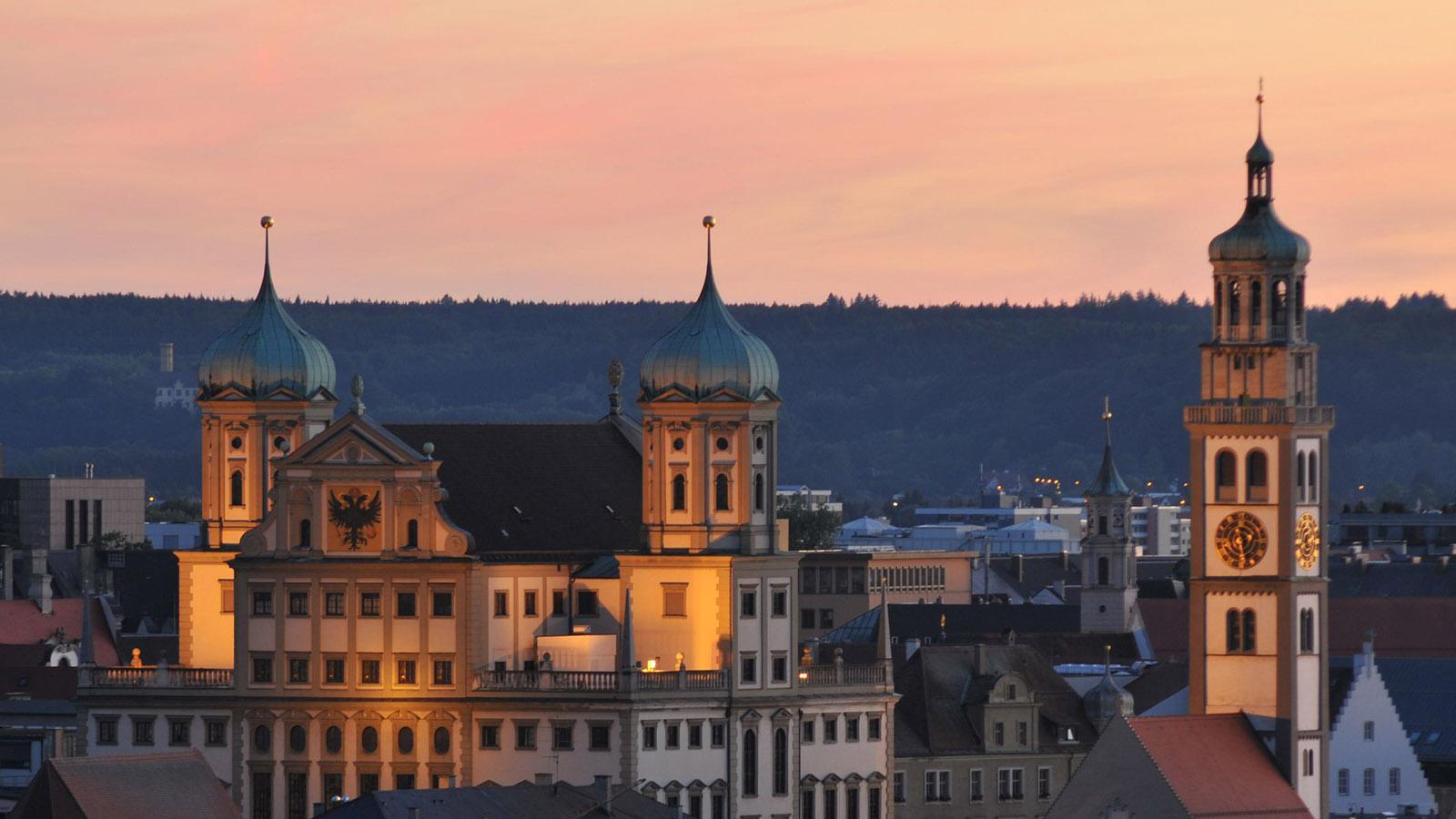 Das Rathaus von Augsburg. Foto: Regio Augsburg Tourismus