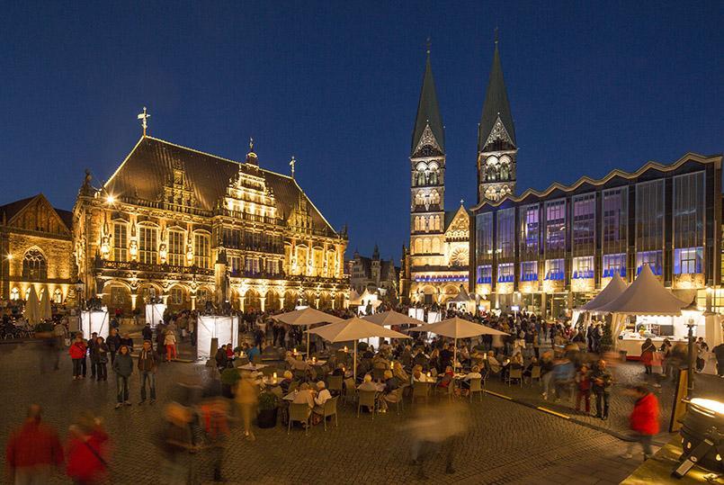 Musikfest Bremen; Rathaus, Dom, Bürgerschaft