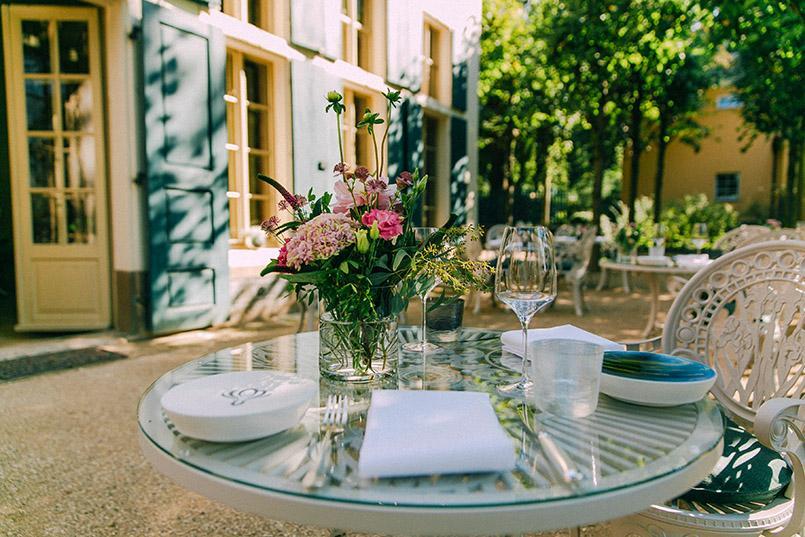 Atelier Sanssouci: die Terrasse. Foto: DML-BY_NC/Anke-Wollten-Thom
