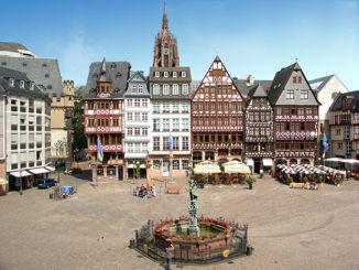 Der Römerberg von Frankfurt. oto: Pressebild-Stadt Frankfurt/Tanja-Schäfer.jpg