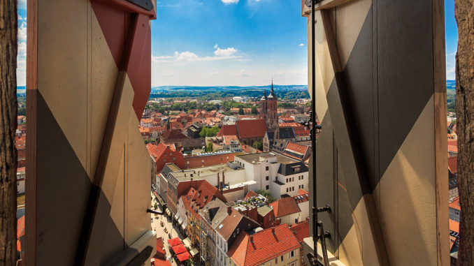 Blick von St. Jacobi auf die Altstadt. Foto: Tourismus Marketing Niedersachsen GmbH, Lars Gerhardts.