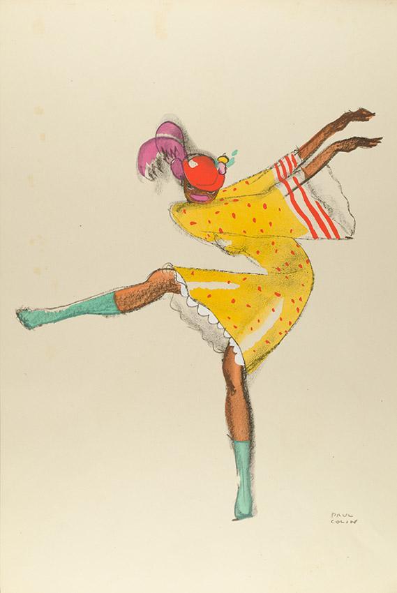 Art Déco Plakatkunst von Colin: Josephine Baker