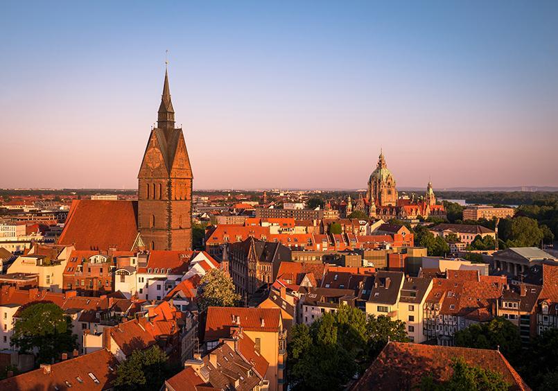 Stadtansicht von Hannover