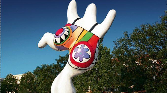 Hannover: die Nanas von Niki de Saint Phalle
