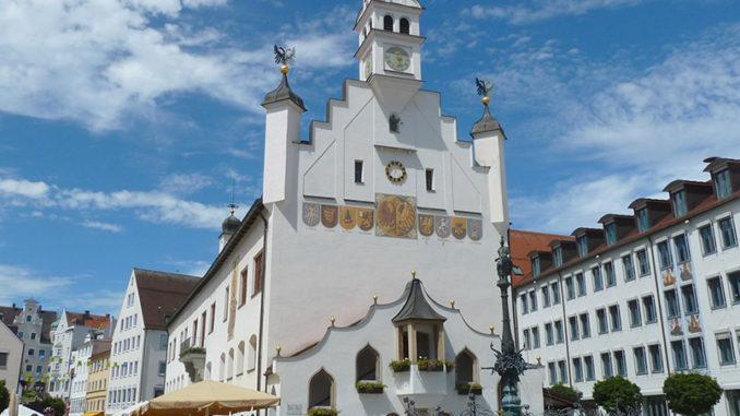 Das Rathaus von Kempten im Allgäu