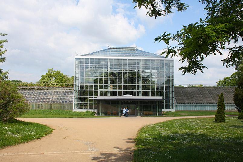 Magdeburg: Gruson-Gewächshaus