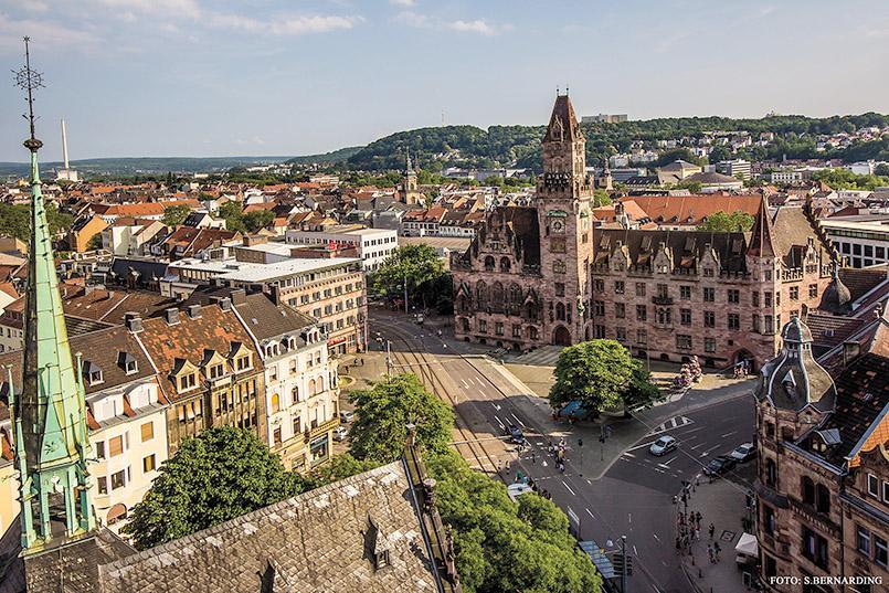 Saarbrücken: neues Rathaus