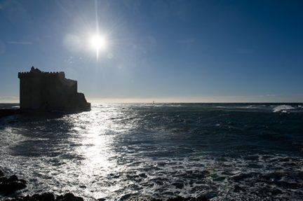 F_Îles Lérins_St-Honorat_Meer_Wehrturm_1__credits_Hilke Maunder