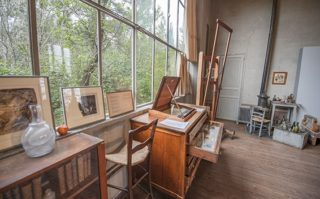 F_Aix-en-P._Atelier Cézanne_Fenster_Garten_credits_Hilke Maunder