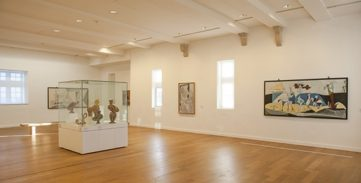 F_Antibes_Picasso-Museum_oberster Saal©Hilke Maunder