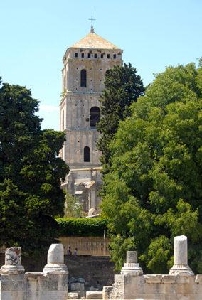 F/Provence/Bouches-du-Rhône/Arles: antikes Theater