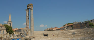F/Provence/Bouches-du-Rhône/Arles: antikes römisches Theater