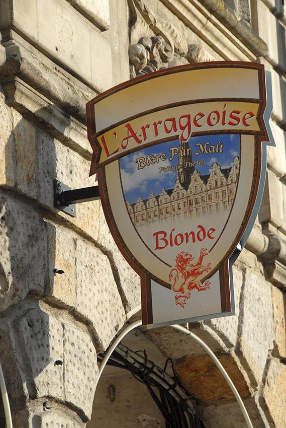 Sch't-Genuss: In Arras gebraut: L'Arrageoise. Foto: Hilke Maunder