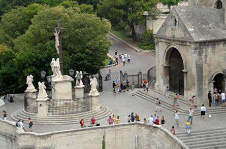 F/Vaucluse/Avignon: Place du Palais, Notre Dame