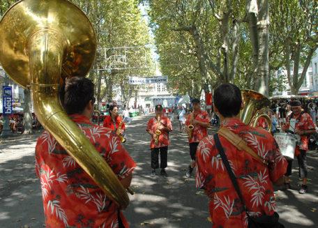 F/Languedoc-Roussillon/Béziers: Féria, Musikgruppe