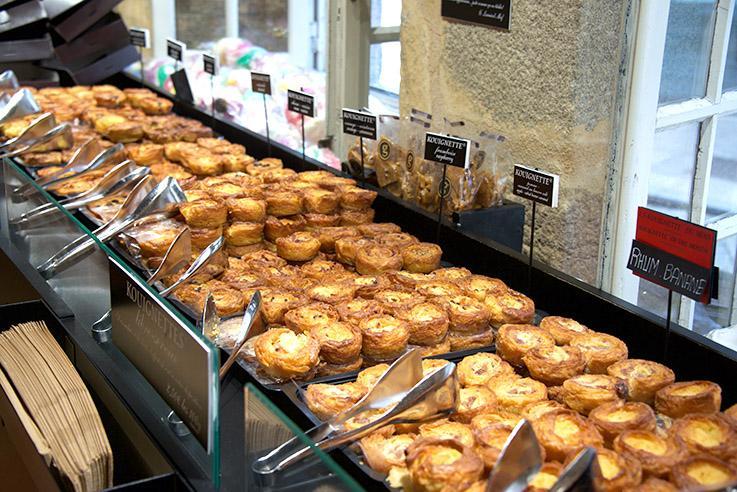 Côte des Sables: Köstliches beim Bäcker
