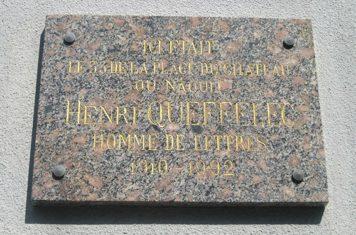 F_Bretagne_Henri Queffelec_Geburtshaus©Esther Finis