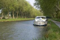F/Languedoc-Roussillon/Aude: Canal du Midi bei Castelnaudary