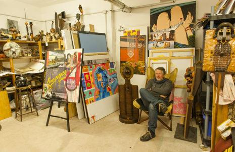 F_Cannes_Suquet des Artistes_Richard Ferri-Pisani_Kunst_Künstler_credits Hilke Maunder_