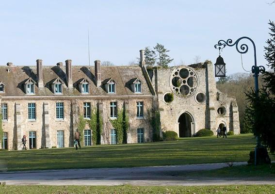 Die Abtei von Cernay. Foto: Deike Uhtenwoldt