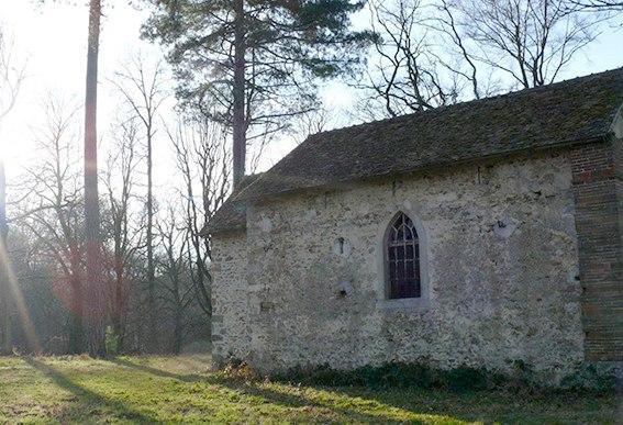 Die Abtei von Cernay mit ihrer Kapelle. Foto: Deike Uhtenwoldt