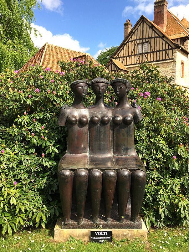 Jardin Normand: das Château de Vascoeuil. Foto: M.G.-Clement/CRT-Normandie