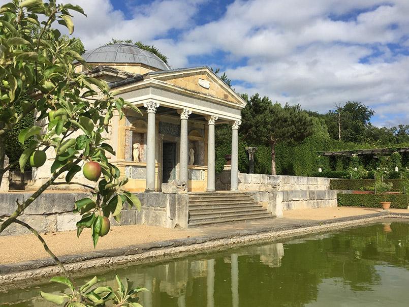 Jardin Normand: das Château-du-Champs-de-Bataille