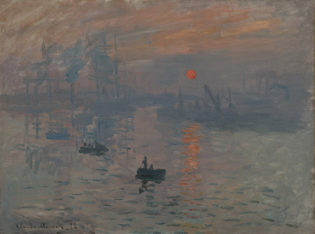 F_Claude Monet_Impression, soleil levant_72© Bridgeman Images