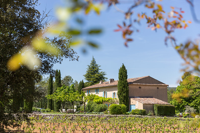 Herbst auf dem Weingut Clos d'Alari