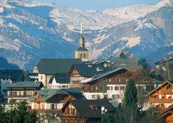 F/Rhône-Alpes/Haute Savoie/Les Contamines Montjoie: Ortslage