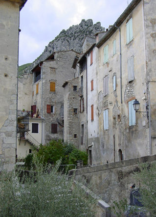 F/Provence/Haute Provence/Entrevaux:im  mittelalterlichen Ortskern.