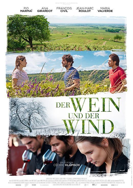 Vougeot: Der Wein und der Wind.