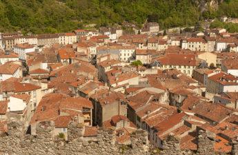 F_Foix_Château_Blick Stadt_1_credits_Hilke Maunder