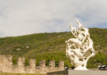 F_Foix_Château_Skulptur von Nick Ervinck_5_credits_Hilke Maunder
