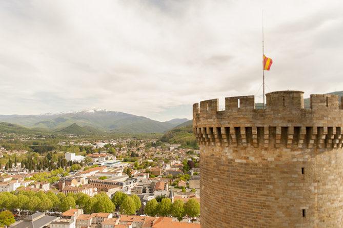 F_Foix_Château_Turm_oben_2_credits_Hilke Maunder