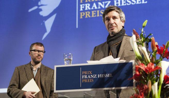 """Eric Vuillard für die Erzählungen """"La Bataille d'Occident"""" und """"Congo"""" mit dem Franz Hessel-Preis ausgezeichnet"""
