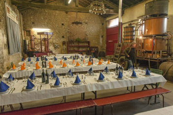 F_Gers_Château de Millet_Armagnac_Marc Saint-Martin_Alambic_Schaubrennen©Hilke Maunder
