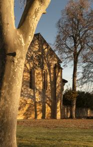 F_Gers_Flaran_Abteikirche_Platanen©Hilke Maunder