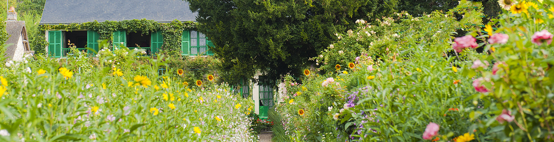 Der Garten von Monet in Giverny