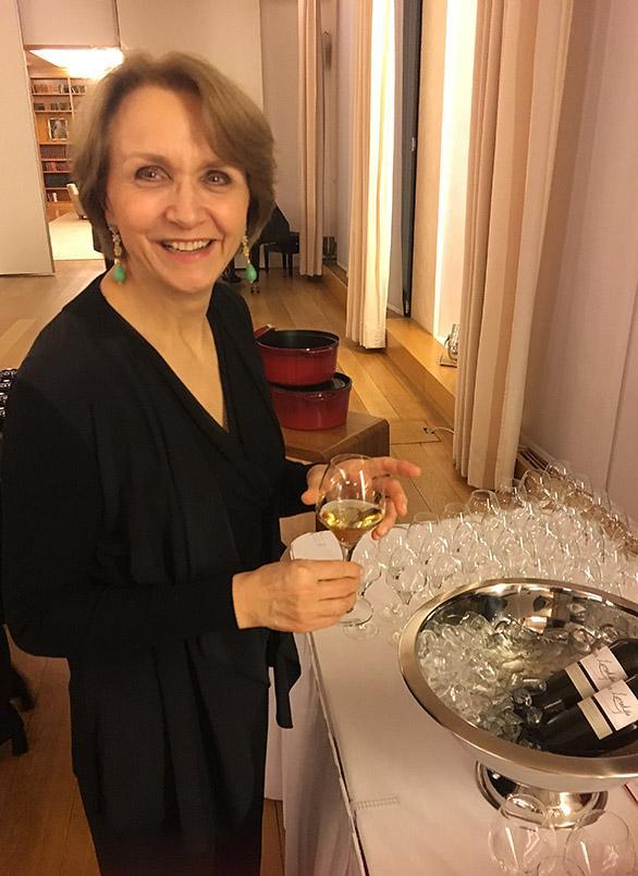 Goût de France 2018 in der Französischen Botschaft Berlin , Anne-Marie Descôtes
