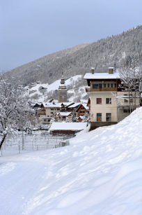 F_Grand Bornand_Ortszentrum_Winter_©Hilke Maunder