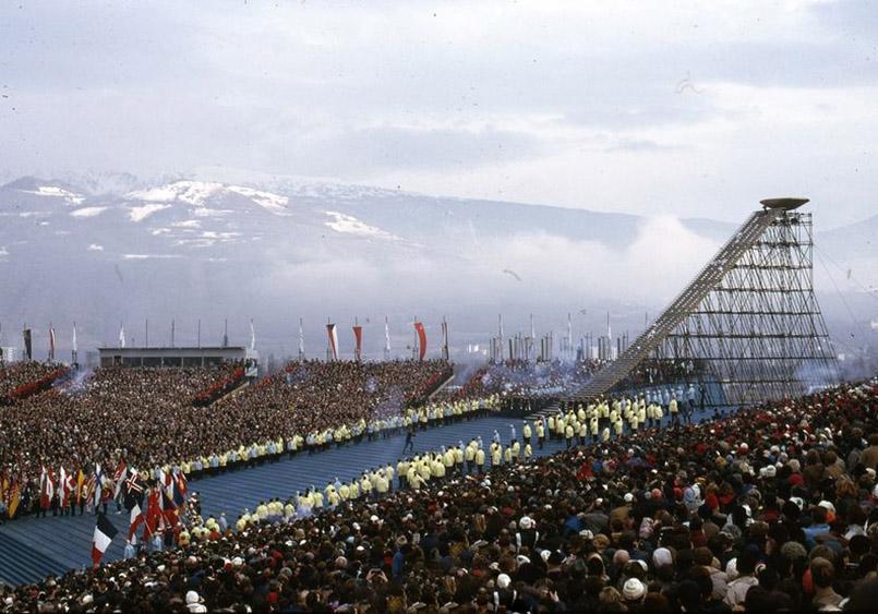 Die Eröffnung der X. Winterspiele am 6. 2. 1968