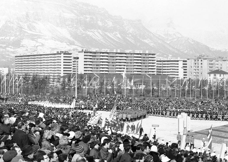 Olympia in Grenoble: Eröffnung der X. Winterspiele