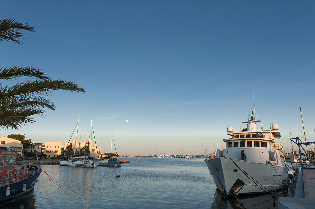 Der Hafen von Gruissan. Foto: Hilke Maunder