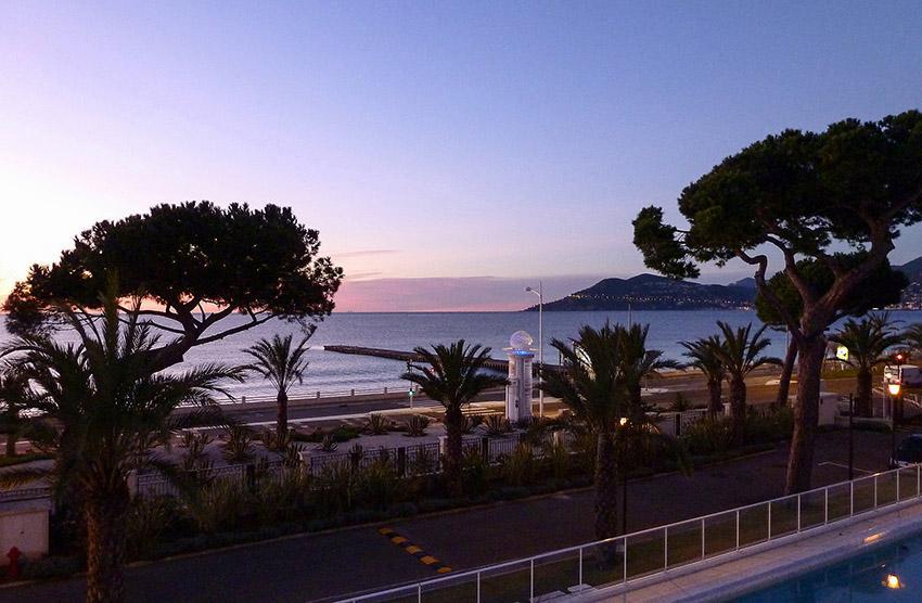 Cannes an der Côte d'Azur
